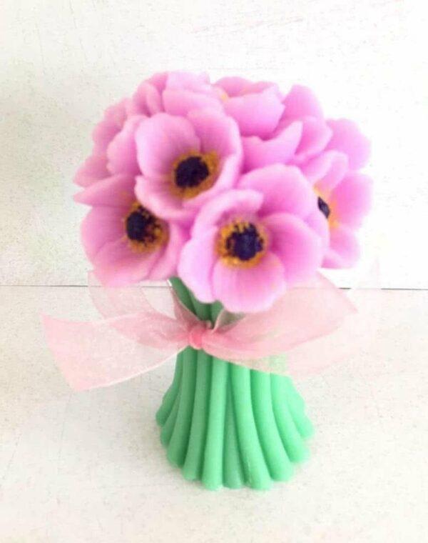 Букеты из мыла - 400 Цвет: сиреневый