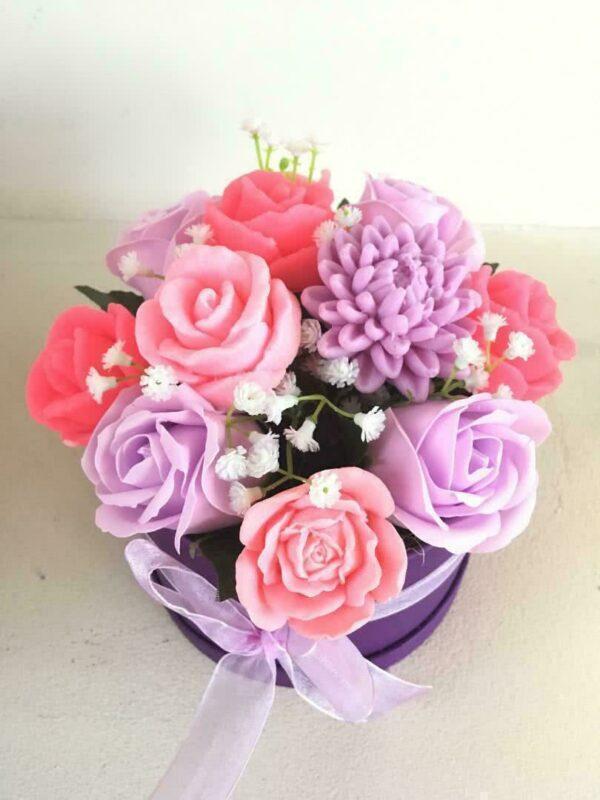 Букеты из мыла - 1 600 Цвет: розовый