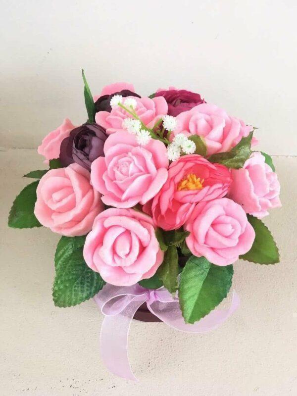 Букеты из мыла - 1 450 Цвет: розовый