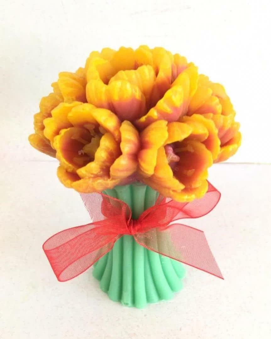 Букет «Мыльные тюльпаны»