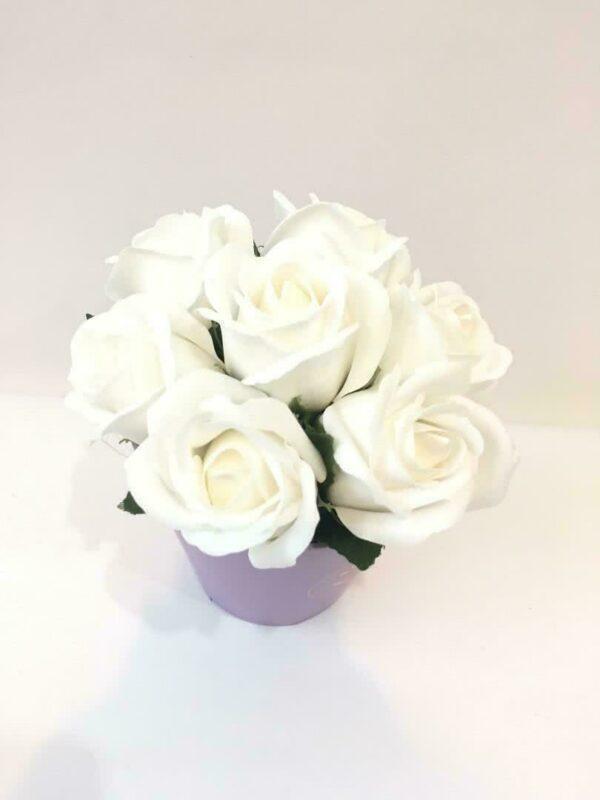 Букеты из мыла - 500 Цвет: белый