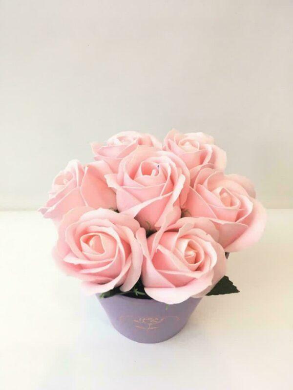 Букеты из мыла - 500 Цвет: розовый