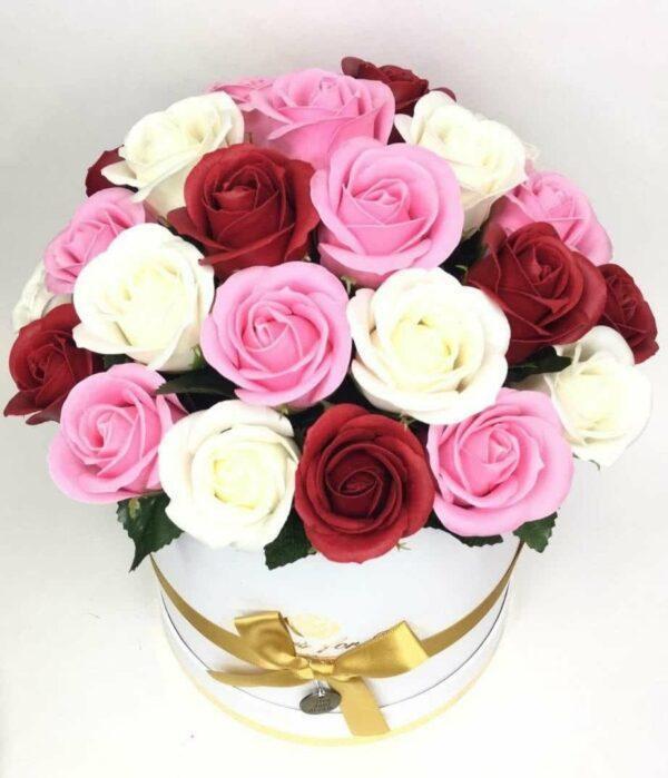 Букеты из мыла - 3 300 Цвет: розовый