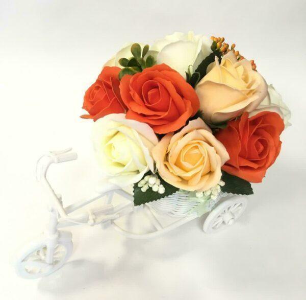 Букеты из мыла - 1 500 Цвет: оранжевый