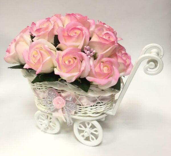 Букеты из мыла - 1 900 Цвет: ванильный