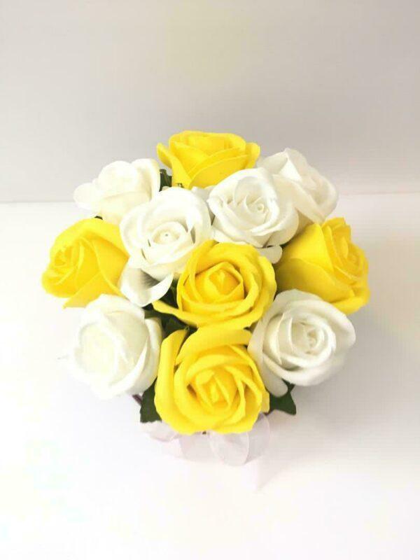 Букеты из мыла - 1 050 Цвет: желтый