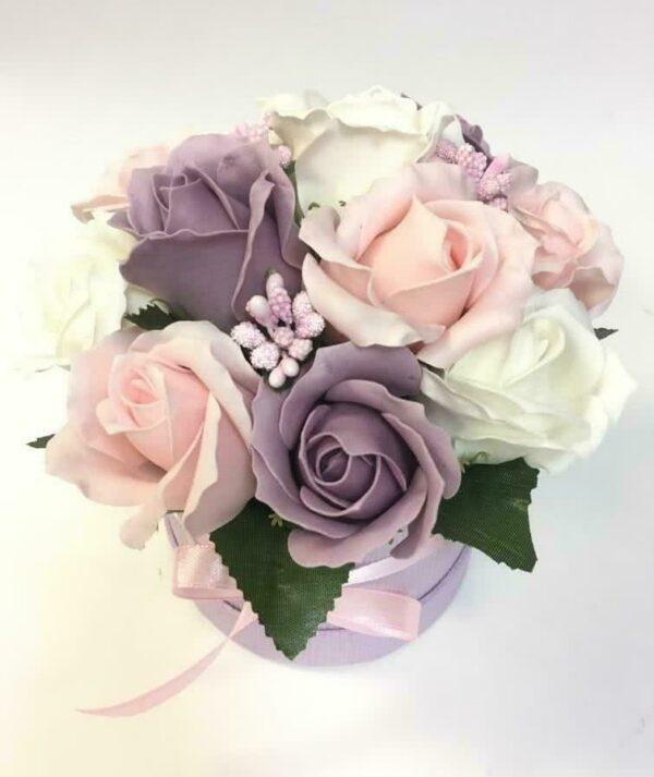 Букеты из мыла - 1 100 Цвет: белый