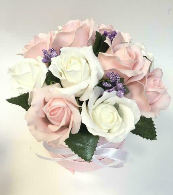 Букеты из мыла - 1 100 Цвет: нежно-розовый