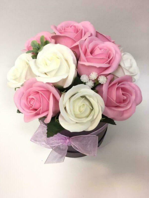Букеты из мыла - 1 100 Цвет: розовый