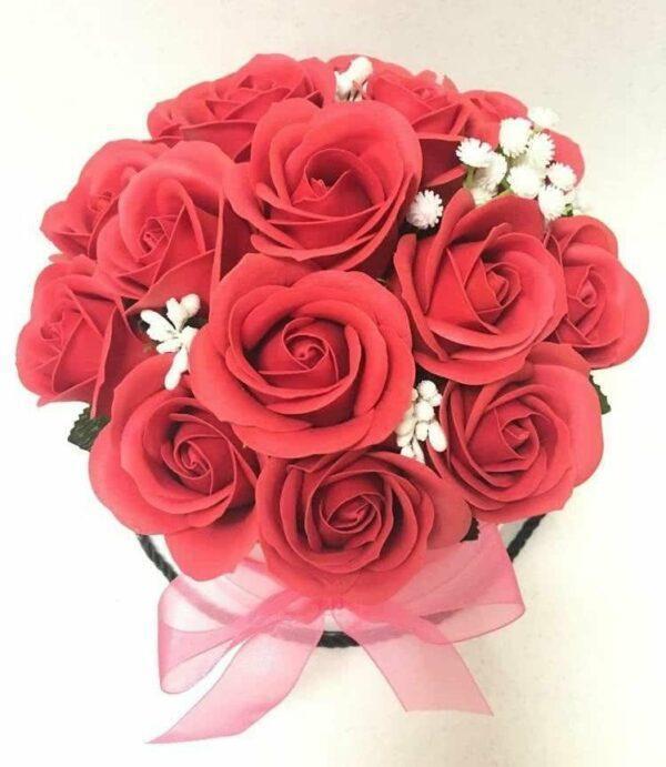 Букеты из мыла - 1 350 Цвет: красный