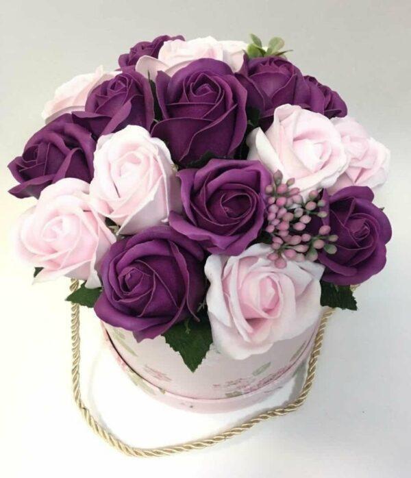 Букеты из мыла - 1 600 Цвет: нежно-розовый