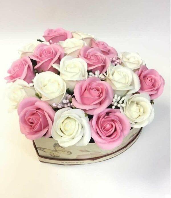 Букеты из мыла - 1 700 Цвет: белый