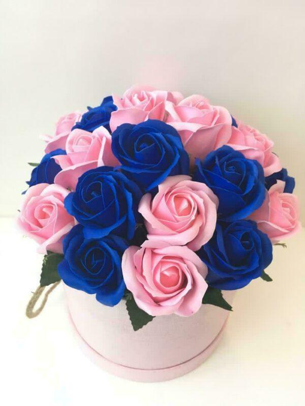 Букеты из мыла - 1 950 Цвет: синий