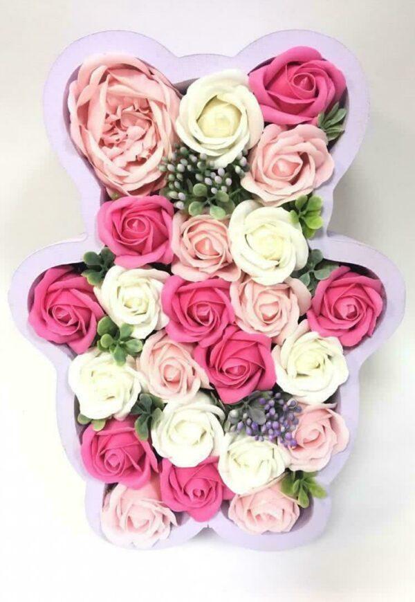 Букеты из мыла - 2 300 Цвет: фуксия насыщенный