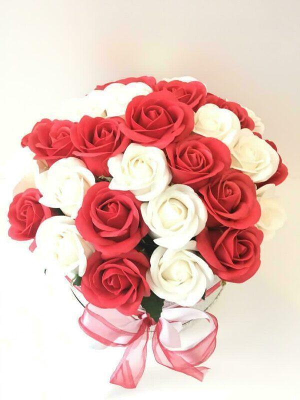 Букеты из мыла - 2 500 Цвет: белый