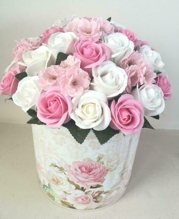 Букеты из мыла - 3 400 Цвет: белый