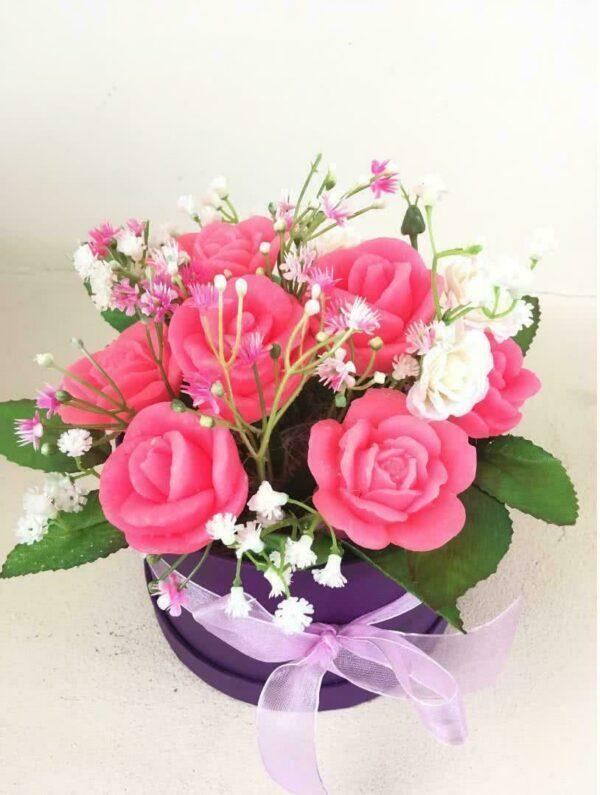 Букеты из мыла - 1 400 Цвет: ярко-розовый