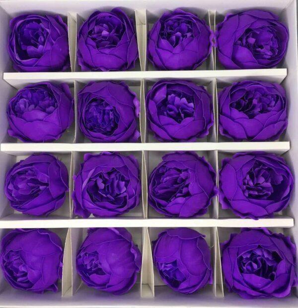 Пионы из мыла - 950 Цвет: фиолетовый