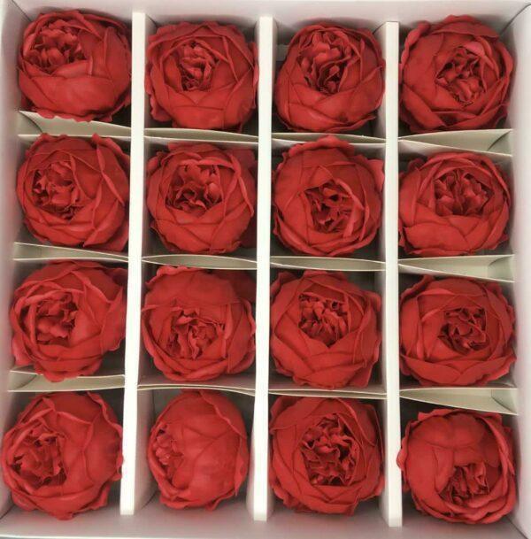 Пионы из мыла - 950 Цвет: красный