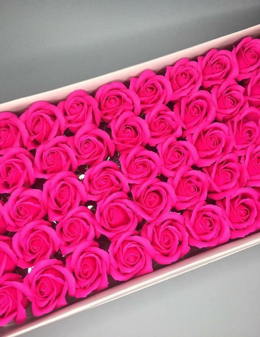 Роза — фуксия 50 шт