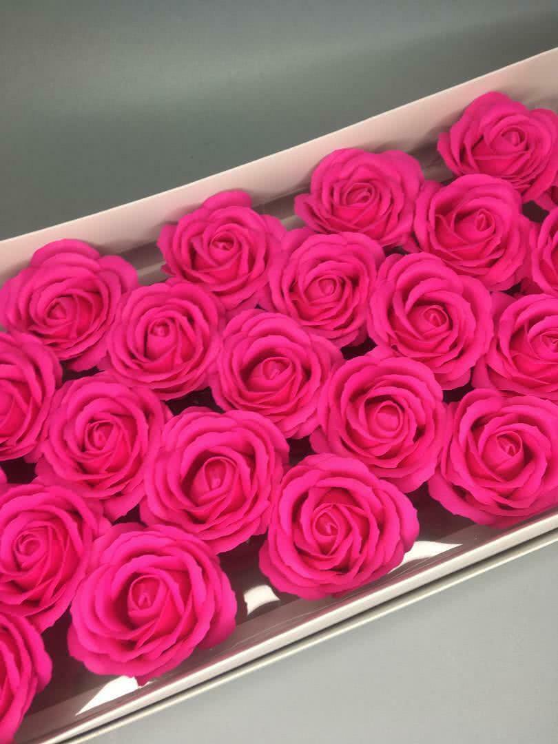 Роза крупная — фуксия 25 шт