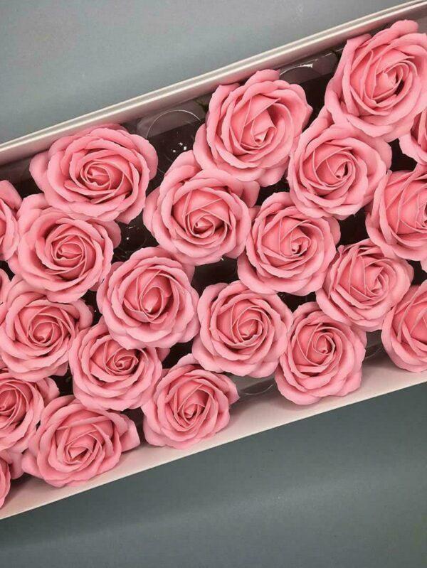 Розы из мыла - 800 Цвет: нежно-розовый