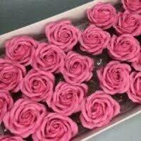 Розы из мыла - 800 Цвет: розовый