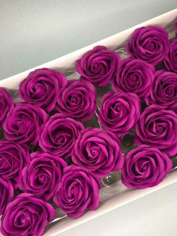 Розы из мыла - 800 Цвет: светло-лиловый