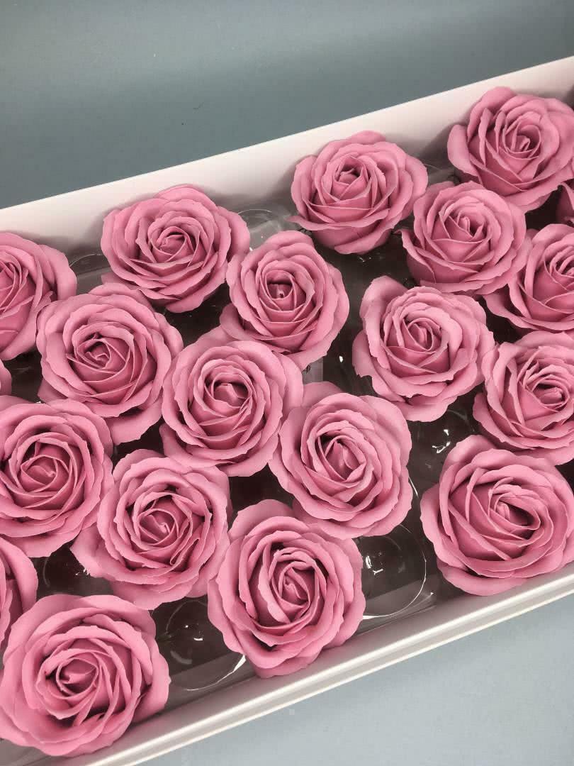 Роза крупная — терракотовая 25 шт