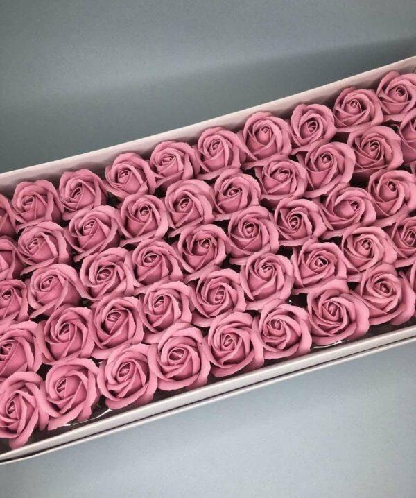 Розы из мыла - 600 Цвет: терракото
