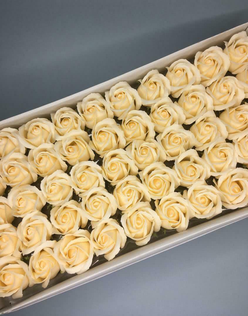 Роза — ванильная 50 шт